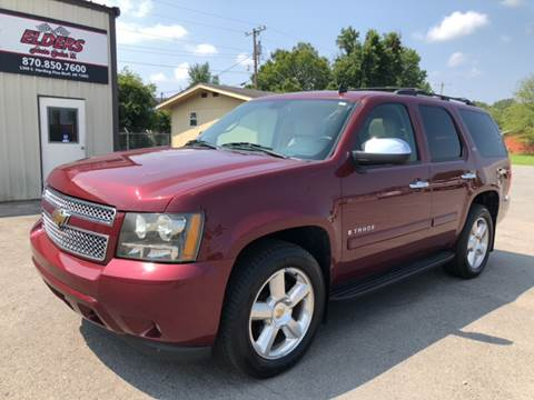 2008 Chevrolet Tahoe for sale at Elders Auto Sales in Pine Bluff AR