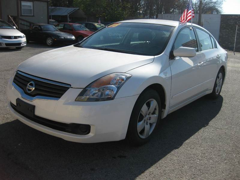 2008 Nissan Altima 25 4dr Sedan In Madison Tn Ace Auto Of Nashville