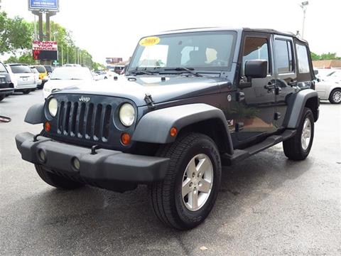 2008 Jeep Wrangler Unlimited for sale in Fort Myers, FL
