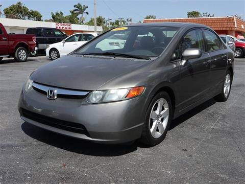 honda civic for sale in fort myers fl. Black Bedroom Furniture Sets. Home Design Ideas