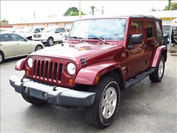 2007 Jeep Wrangler Unlimited for sale in Fort Myers, FL