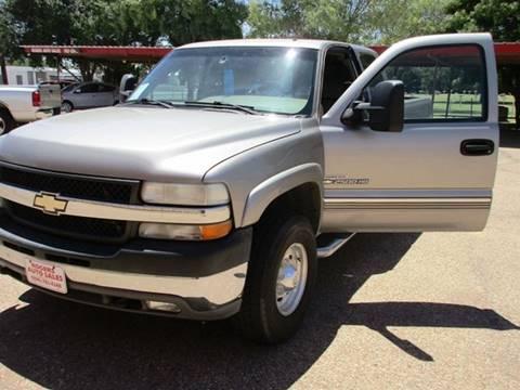 2001 Chevrolet Silverado 2500HD for sale in Lubbock, TX