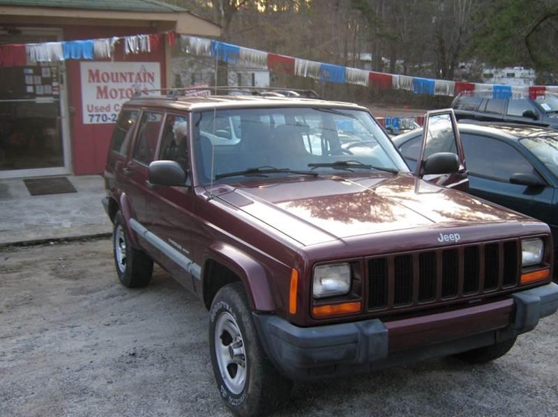 2001 Jeep Cherokee Sport 2WD 4dr SUV   Newnan GA