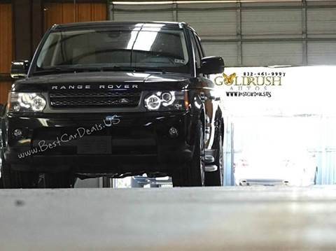 2010 Land Rover Range Rover Sport for sale at Auto Imports in Houston TX