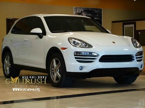 2013 Porsche Cayenne for sale at Auto Imports in Houston TX