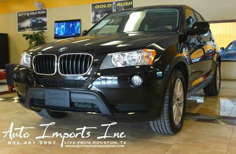 2013 BMW X3 for sale at Auto Imports in Houston TX