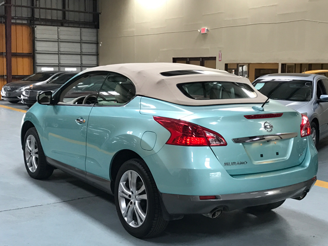 2011 Nissan Murano Crosscabriolet Base Awd 2dr Suv Convertible In
