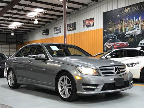 2013 Mercedes-Benz C-Class for sale at Auto Imports in Houston TX