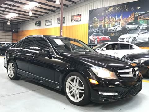 2012 Mercedes-Benz C-Class for sale at Auto Imports in Houston TX