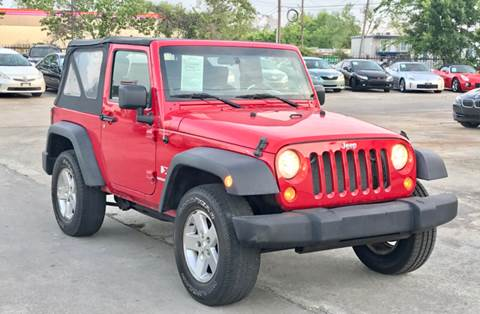 2007 Jeep Wrangler for sale at Auto Imports in Houston TX