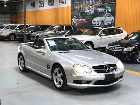 2005 Mercedes-Benz SL-Class for sale at Auto Imports in Houston TX