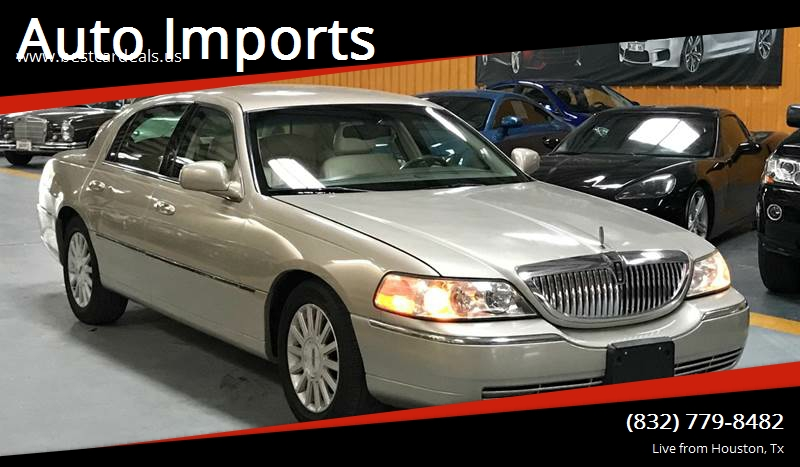 2004 Lincoln Town Car Signature 4dr Sedan In Houston Tx Auto Imports