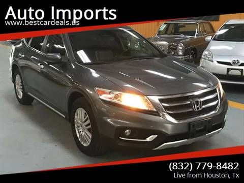 2013 Honda Crosstour for sale in Houston, TX