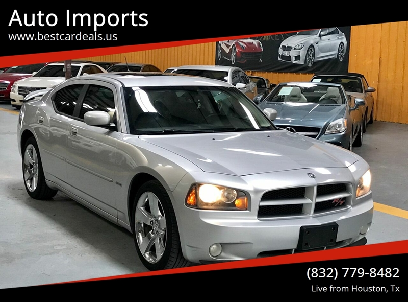 2008 Charger Rt >> 2008 Dodge Charger Rt 4dr Sedan In Houston Tx Auto Imports