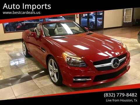 2014 Mercedes-Benz SLK for sale in Houston, TX