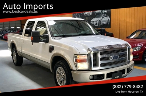 2008 Ford F-250 Super Duty for sale in Houston, TX