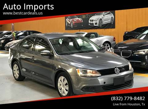 2011 Volkswagen Jetta for sale in Houston, TX