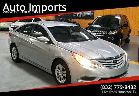 2012 Hyundai Sonata for sale in Houston, TX