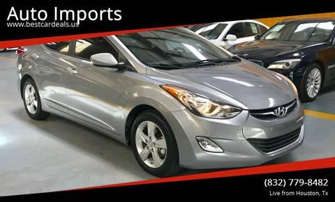2013 Hyundai Elantra for sale in Houston, TX
