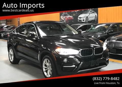 2016 BMW X6 for sale in Houston, TX