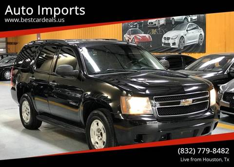 Used Police Tahoes For Sale >> 2009 Chevrolet Tahoe For Sale In Houston Tx