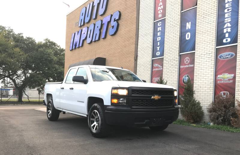 2014 Chevrolet Silverado 1500 4x2 Work Truck 4dr Double Cab 6.5 ft. SB w/1WT - Houston TX
