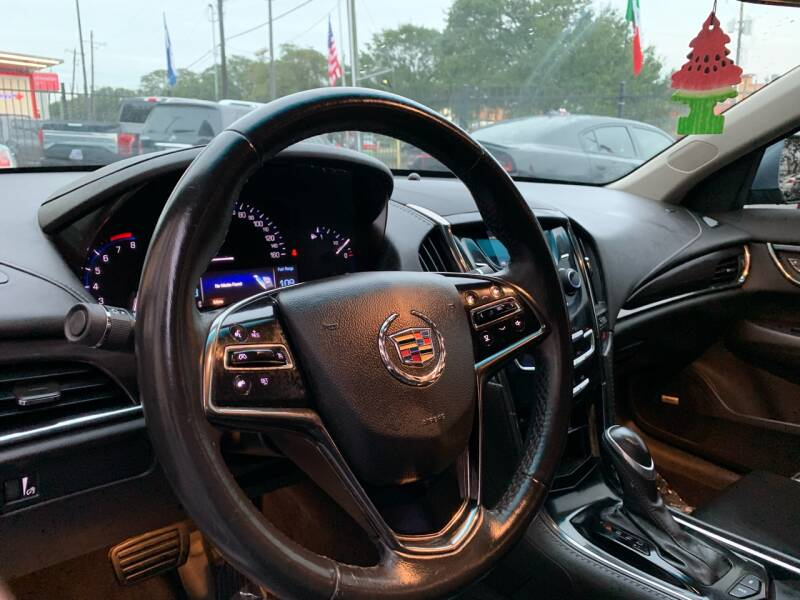 2013 Cadillac ATS 2.5L 4dr Sedan - Houston TX
