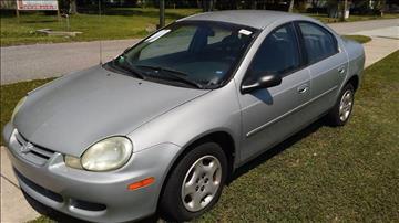 2002 Dodge Neon for sale in Jacksonville, FL