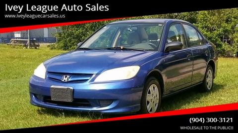 2004 Honda Civic for sale in Jacksonville, FL