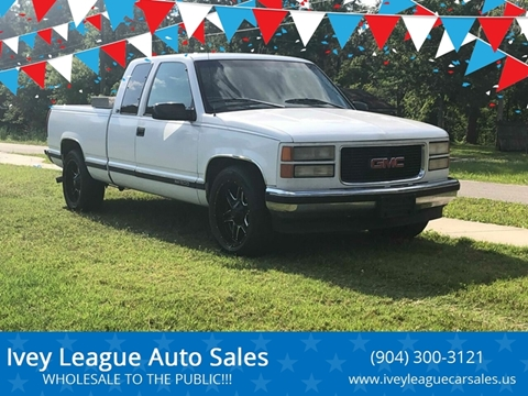1997 GMC Sierra 1500 for sale in Jacksonville, FL