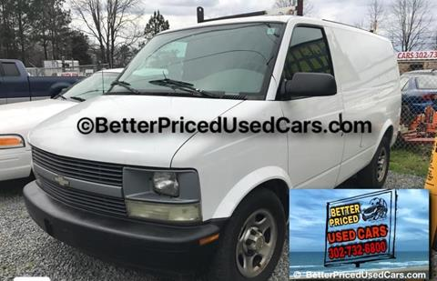 2005 Chevrolet Astro Cargo for sale in Frankford, DE