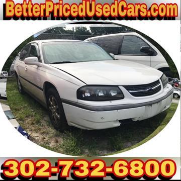 2003 Chevrolet Impala for sale in Frankford, DE