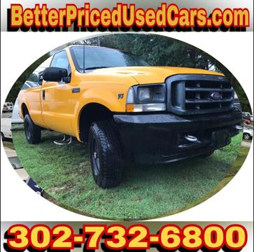 2002 Ford F-250 Super Duty for sale in Frankford, DE