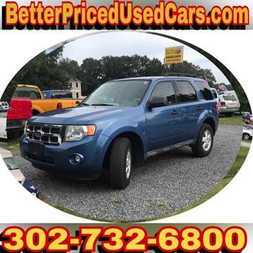 2010 Ford Escape for sale in Frankford, DE