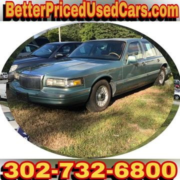 1995 Lincoln Town Car for sale in Frankford, DE