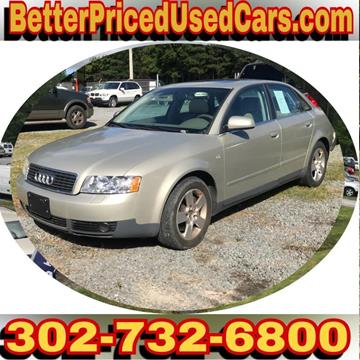 2002 Audi A4 for sale in Frankford, DE