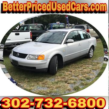 1999 Volkswagen Passat for sale in Frankford, DE
