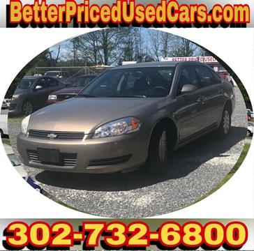2007 Chevrolet Impala for sale in Frankford, DE