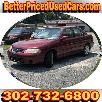 2003 Nissan Sentra for sale in Frankford, DE