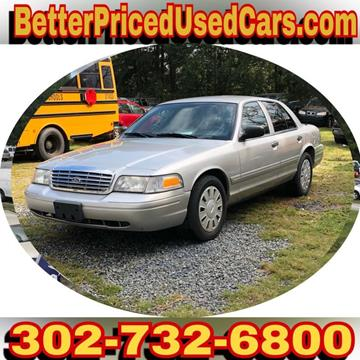 2008 Ford Crown Victoria for sale in Frankford, DE