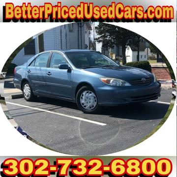 2002 Toyota Camry for sale in Frankford, DE