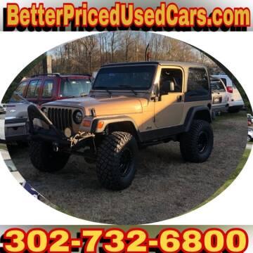 2000 Jeep Wrangler for sale in Frankford, DE