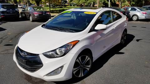 2013 Hyundai Elantra Coupe for sale in Somerville, NJ