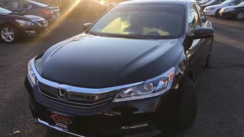 2017 Honda Accord for sale at Super Auto Group in Somerville NJ