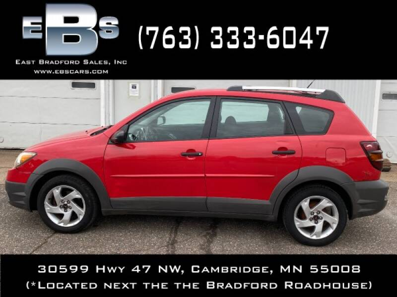 2003 Pontiac Vibe Fwd 4dr Wagon - Cambridge MN