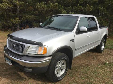 2002 Ford F-150 for sale in Cambridge, MN