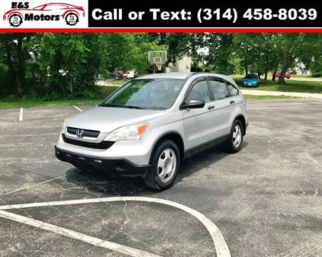 2009 Honda CR-V for sale at E & S MOTORS in Imperial MO