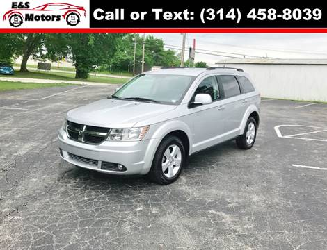 2010 Dodge Journey for sale at E & S MOTORS in Imperial MO