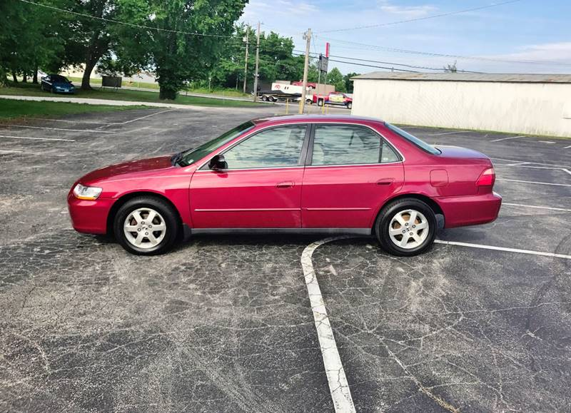 2000 Honda Accord for sale at E & S MOTORS in Imperial MO