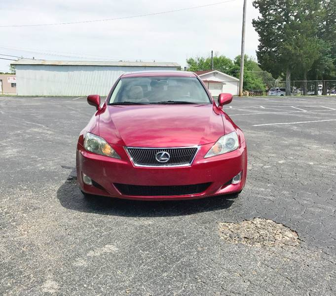 2006 Lexus IS 250 for sale at E & S MOTORS in Imperial MO